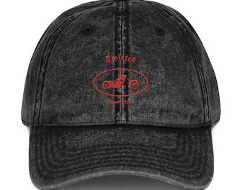 52e8a515 Vintage Cotton Twill Cap - with TwistedSportsters LOGO