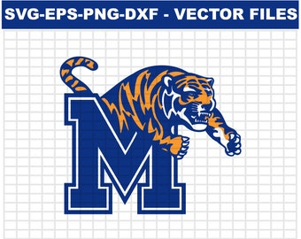 e585c2d95 Memphis Tigers Svg NCAA Men s Division Basketball