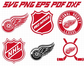Detroit Red Wings svg NHL svg hockey Logo Svg Files Cut files Vector File  hockey svg sport logo svg CriCut Silhouette Cameo Instant download 7c9d2f53bd