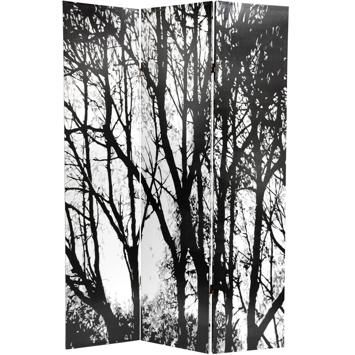 6 ft. Tall Trees Double Sided Room Divider