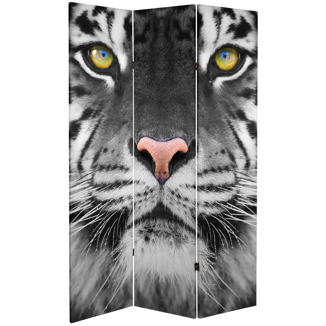 6 ft. Tall Double Sided Tiger Room Divider