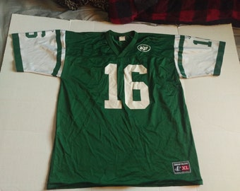 722730b53 Vintage 90s Logo Authentic NFL New York Jets Vinny Testaverde #16 Football Jersey  size XL