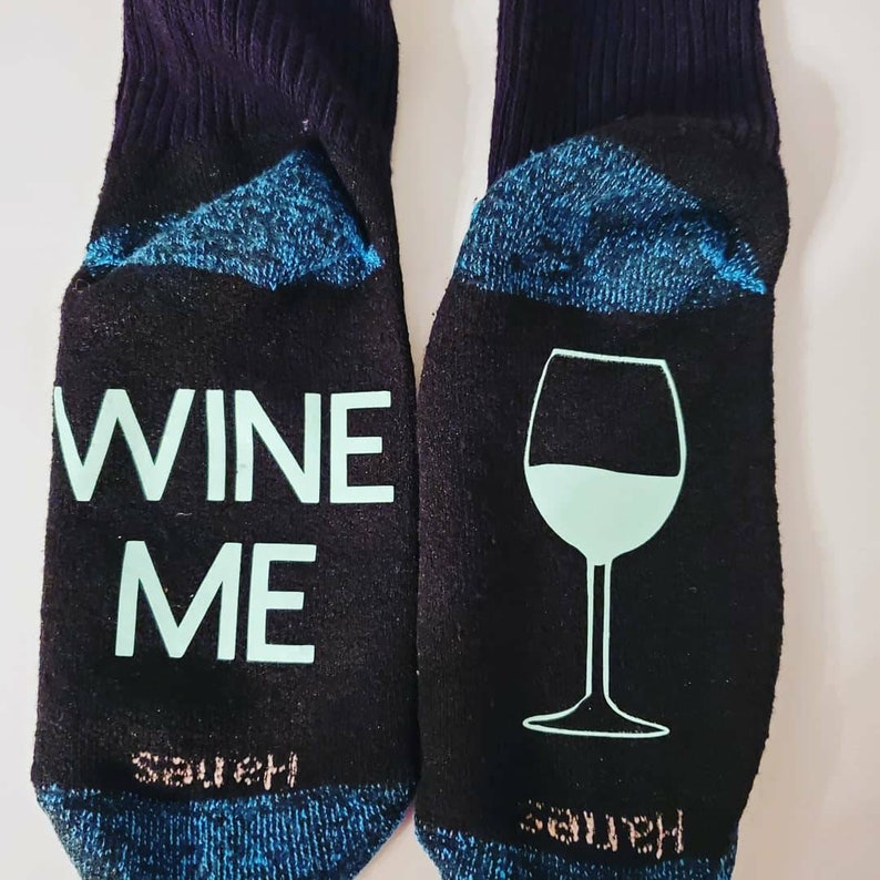 Wine me socks for any wine lover