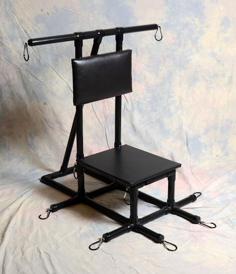 Dungeon Outfitters Ride-On Toy Bondage Chair image 0