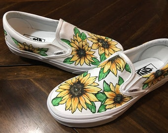 7332d7eef01 Custom Sunflower Vans