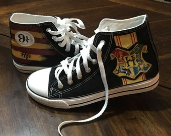 4c3e35a9a6b6 Custom Harry Potter Shoes