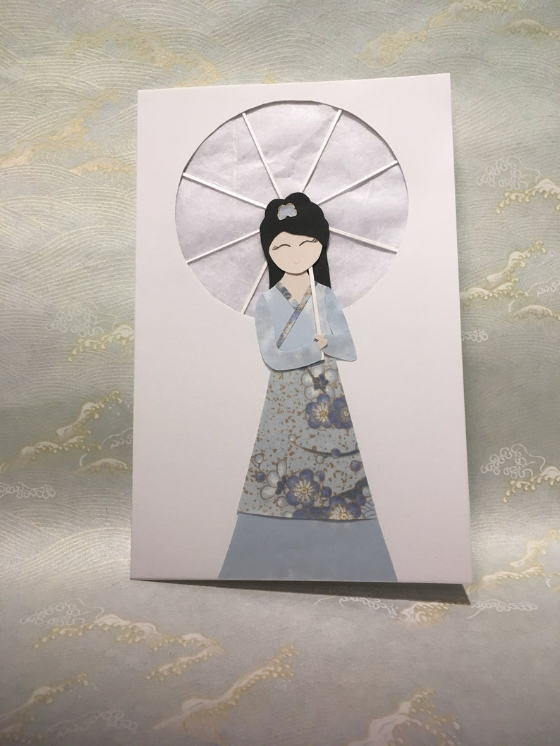 Girl with parasol