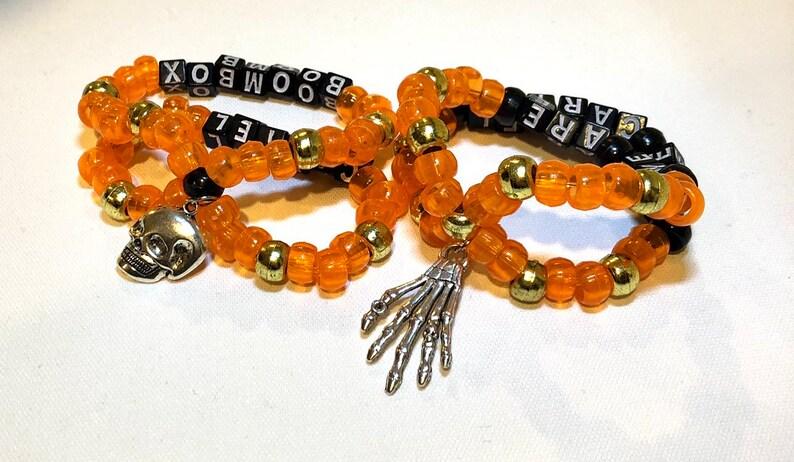 Boombox Cartel Kandi Bracelet Set
