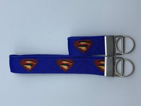 "Superman 18/"" Lanyard Keychain DC Blue"