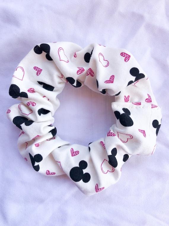 Disney Heart Scrunchie