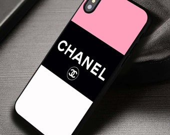 huge selection of b6655 231a8 Chanel phone case iphone | Etsy