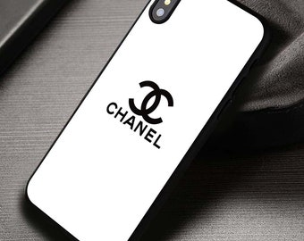 f193250078e91 Chanel Luxury Chanel iPhone Xs Max Case X Xs XR iPhone 8 + 7 6s Custom Chanel  Chanel Chanel Samsung S10+ Case S10 S9+ S8 Chanel Logo Note 9 8 Cases