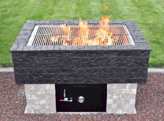 How to Build a Smoker Grill • BBQ • Pig Roaster • Rotisserie • Bread Pizza Oven • Brazilian BBQ • Deep Fryer and More! The BrickWood Box