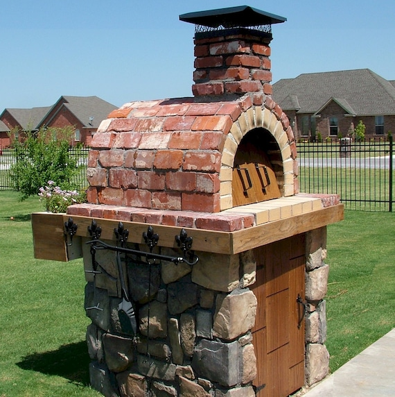 Pizza Oven Plans How To Build A Pizza Oven Americas Etsy