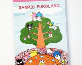 f4f387320 Sanrio PuroLand Hello Kitty & Friends Memo Pad Exclusive 2016
