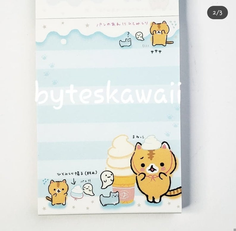 San-x Corocoro Coronya Ice cream Mini Memo Pad 2018