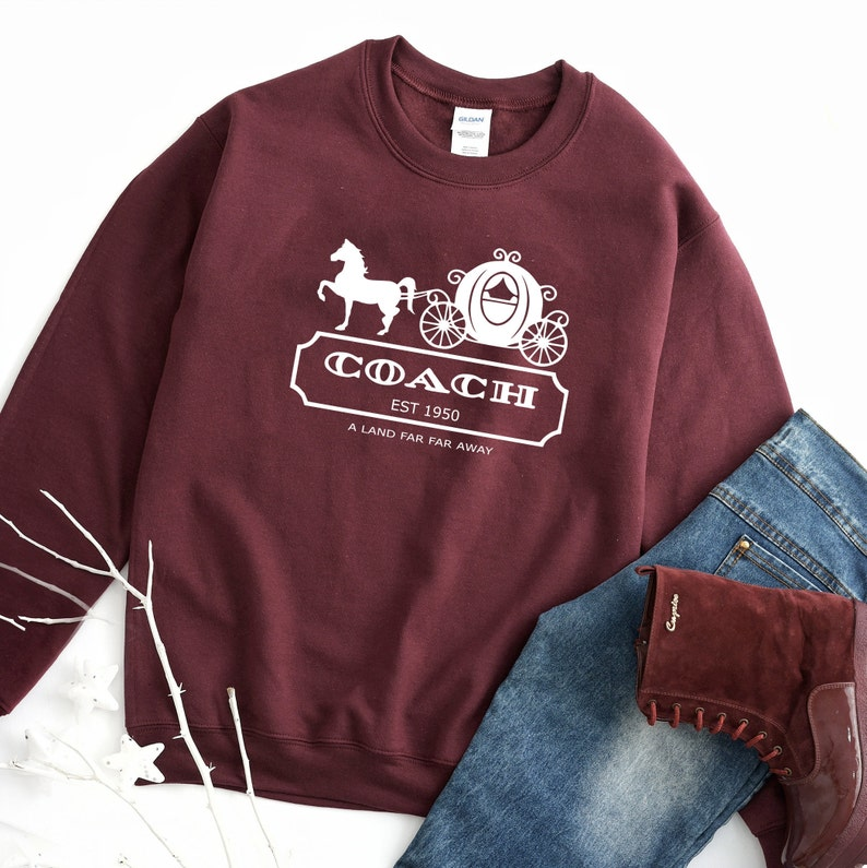 22 Disney Gifts for Mom featured by top US Disney blogger, Marcie and the Mouse: Disney Cinderella Sweatshirt Disney Coach Gift Coach Disney image 0