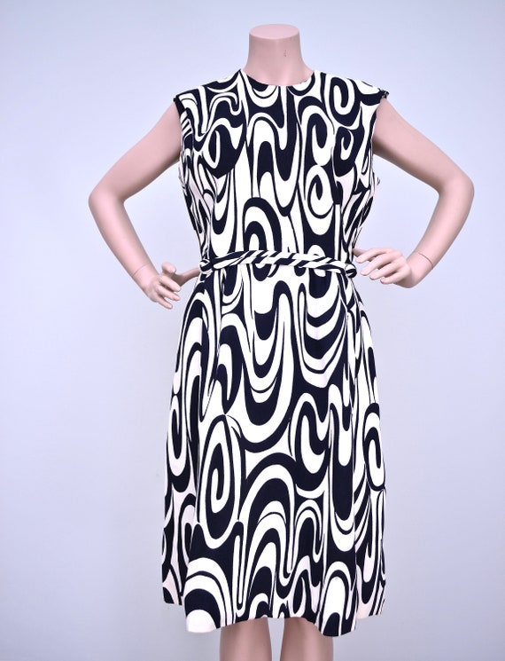 60's psychedelic dress