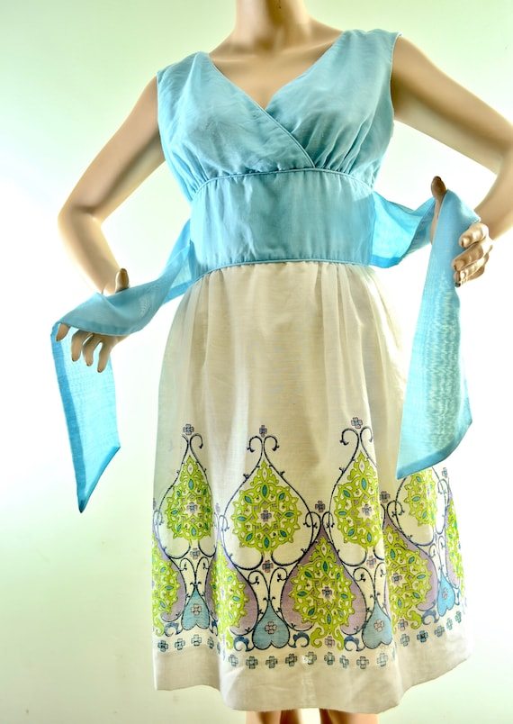 70's Alfred Shaheen ... the master printer dress