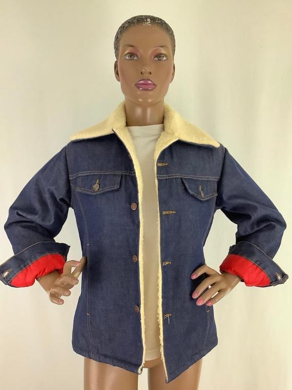 50's Roebucks winter denim jacket