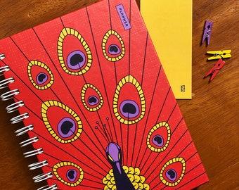 Creative Confidence Planner - Peacock Shining Bird