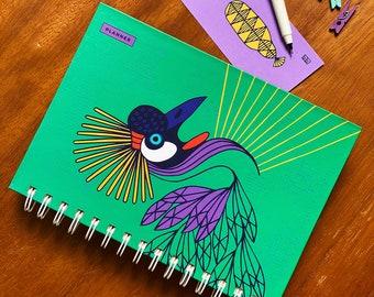 Creative Confidence Planner - Crane Shining Bird