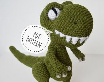 Baby Knitting Patterns Sleeping Baby T-Rex Amigurumi by yimtea on ... | 270x340