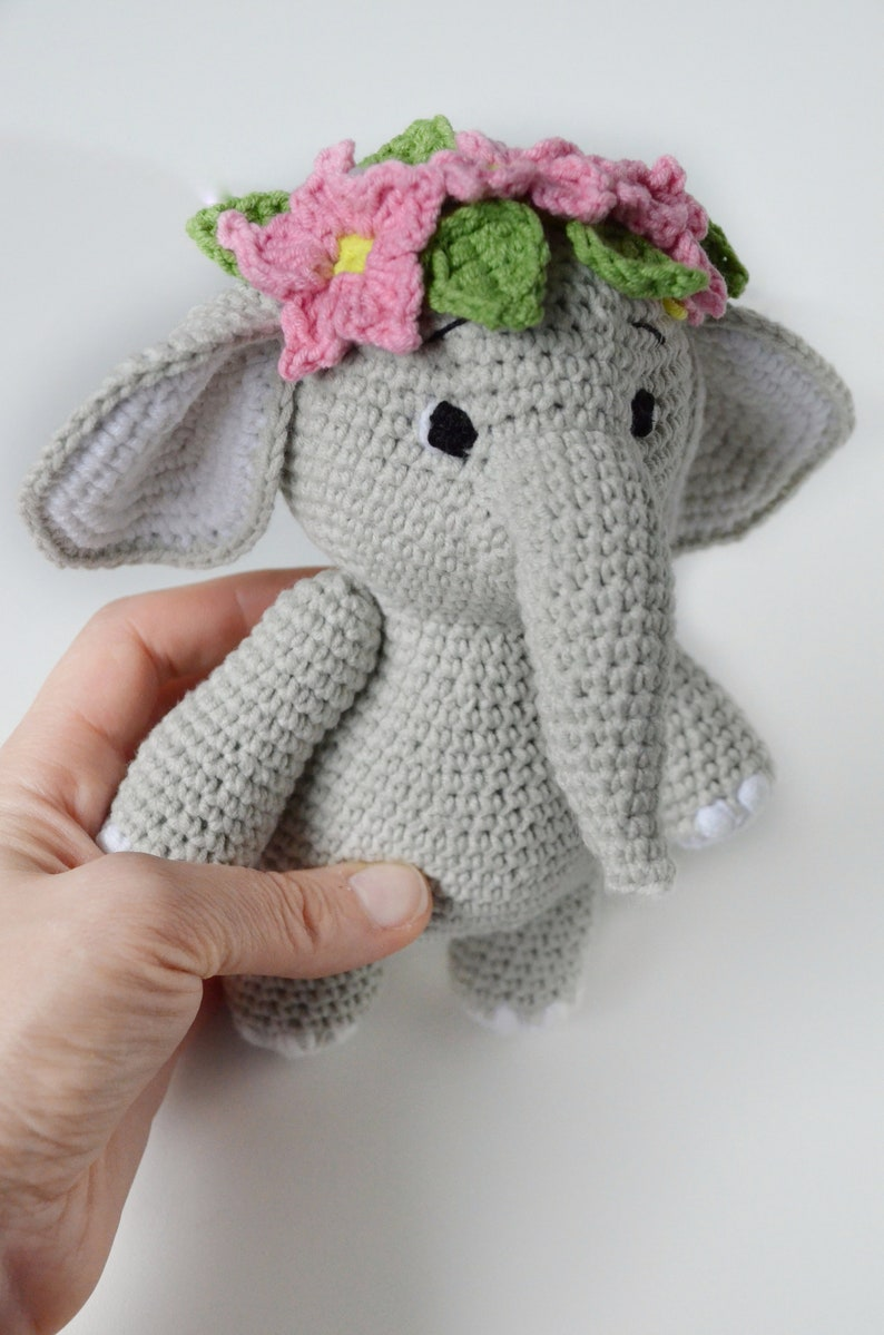 Roy Elephant Crochet Kit by Wool Couture | 1199x794