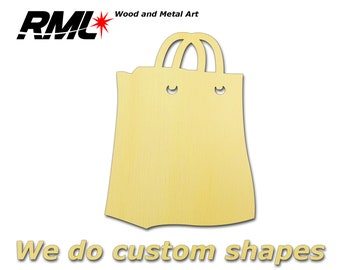 Outer 16.0 x 10cm plywood bag handle SY205 Brown color Handbag wooden handle One Pair
