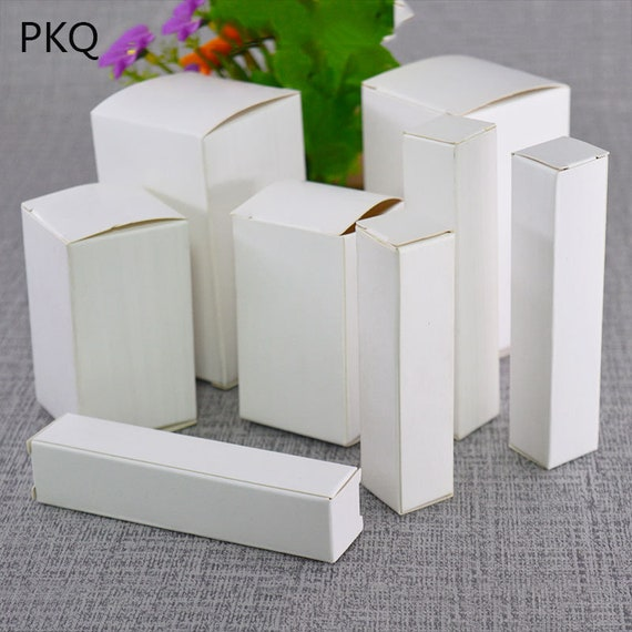 Pinstripe Cotton Filled Jewelry Gift Box Black 100Pcs