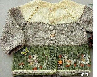 321e47a30669 Knit baby sweater