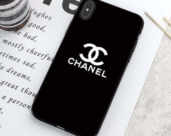 the best attitude 5a6f2 6a835 Chanel iphone x case | Etsy