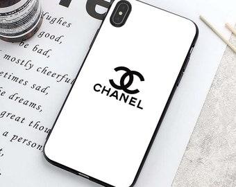 timeless design c8e2c 47d89 Iphone x case chanel | Etsy