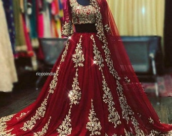Indian Wedding Dress Etsy