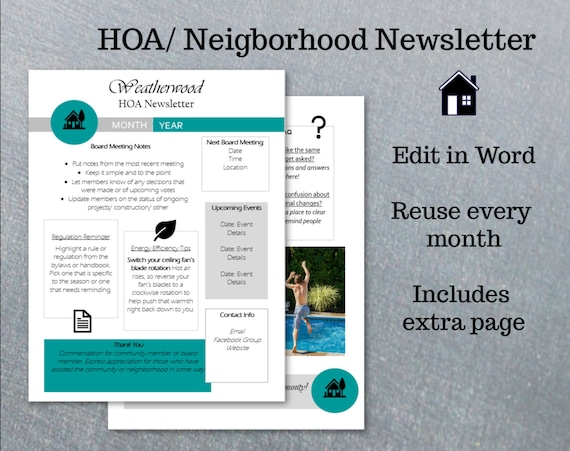 Template For Newsletter In Word from i.etsystatic.com