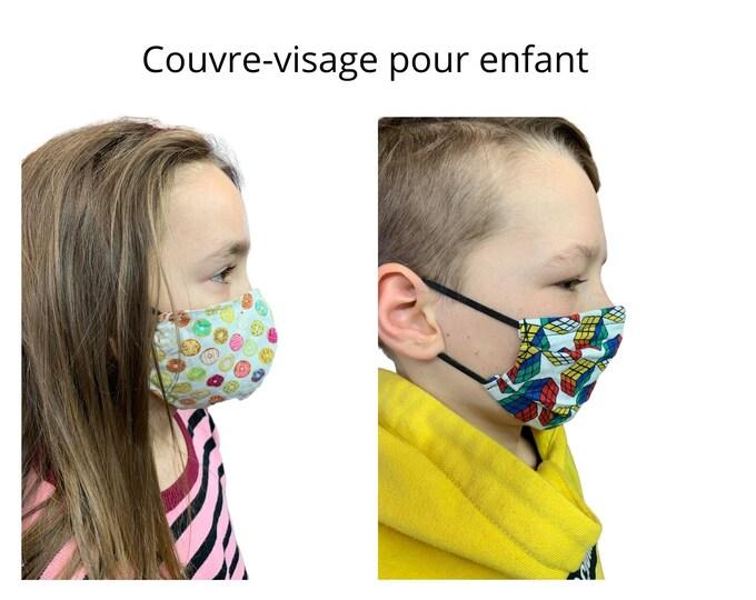 Masque pour enfant