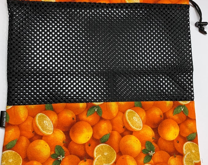 Reusable fruit and vegetable bags 'Orange'