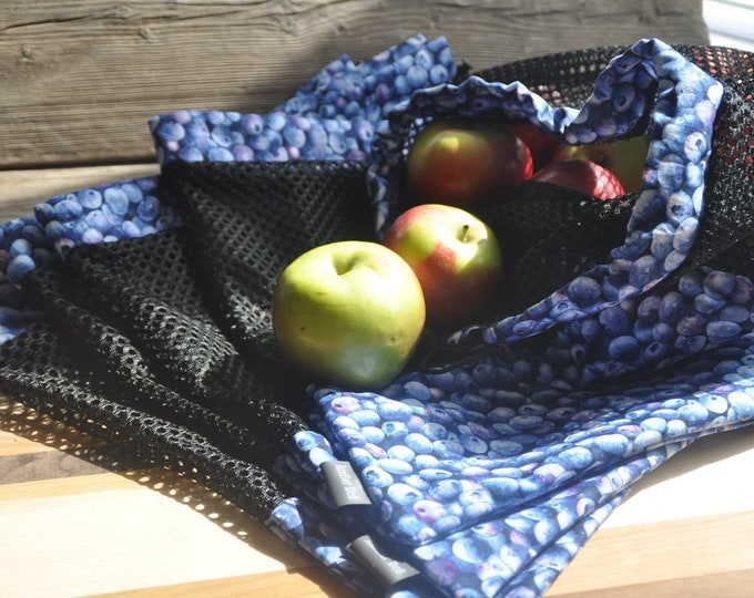 Set of three (3) net bags