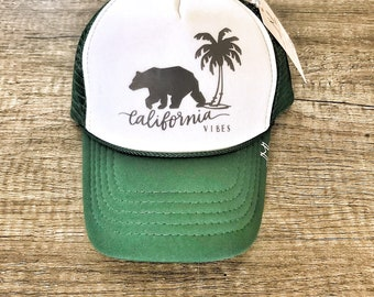 952ba296282 California Vibes Baby Trucker Hat