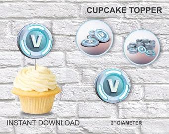 Fortnite Cupcake Etsy