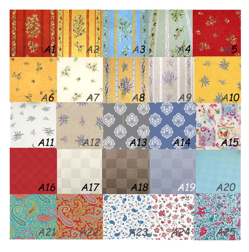 Acrylic Coated Fabric by the Yard Large 60 to 62 inches wide Water Resistant Laminated Fabric Samples of Fabrics