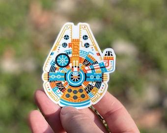 Millennium Falcon Sticker