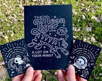 Neon Tiger - The Killers Screenprint Poster