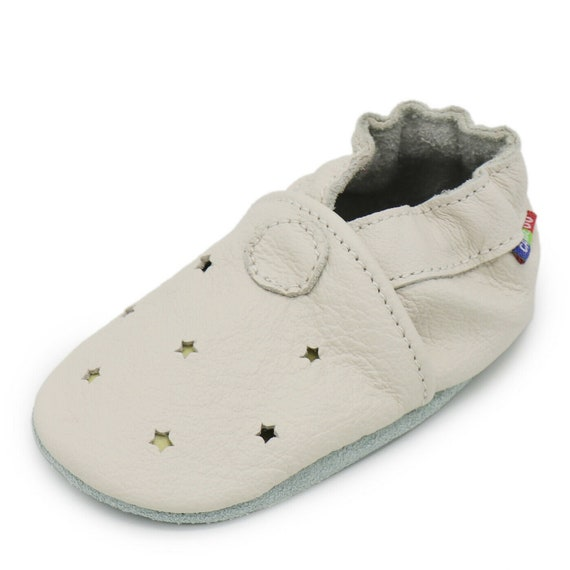 carozoo pink heart 18-24m S  soft sole leather baby shoes