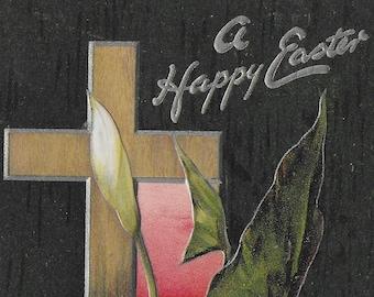 Easter Greetings - 1909 - Tuck's Vintage Postcard