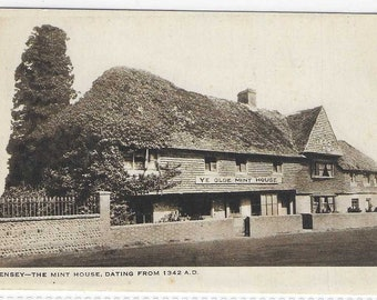 The MINT HOUSE, PEVENSEY, East Sussex - Unused Vintage Postcard Published by The Historical Old Mint House