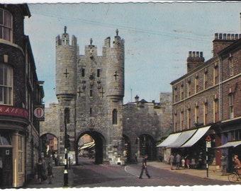 MICKLEGATE BAR, York, Yorkshire 1964 - Used Vintage Postcard Posted on 5th September 1964