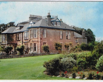 RAVENSWOOD and ELWOOD HOTELS, Lundin Links, Scotland - Used Vintage Postcard Published by M and L National Series