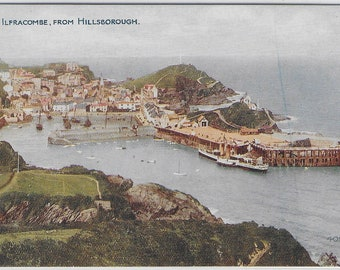 ILFRACOMBE from Hillsborough, Devon - Unused Vintage Postcard Published by Photochrom