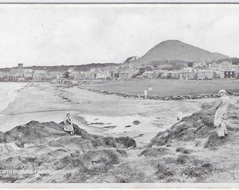 NORTH BERWICK from Point Garry, Scotland - Unused Valentine's Vintage Postcard